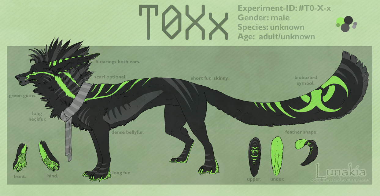 T0Xx Reference Sheet by Lunakia