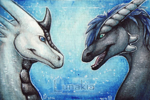 Kalwaeh and Shelli by Lunakia