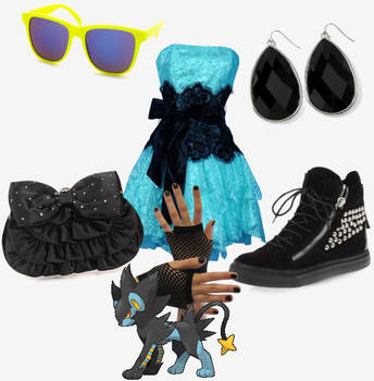 luxray outfit by pipomonkeys