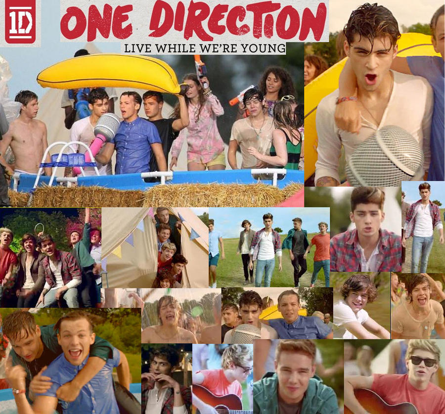 One Direction LWWY by pipomonkeys