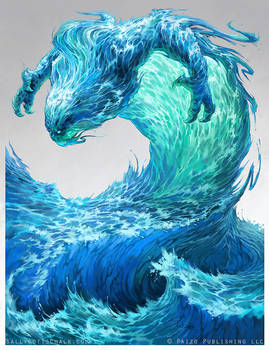 Water Elemental - Pathfinder
