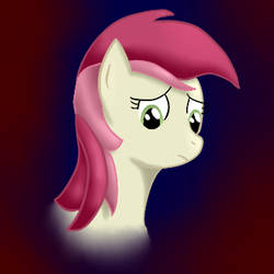 Roseluck Head Sad by CocoaNutCakery