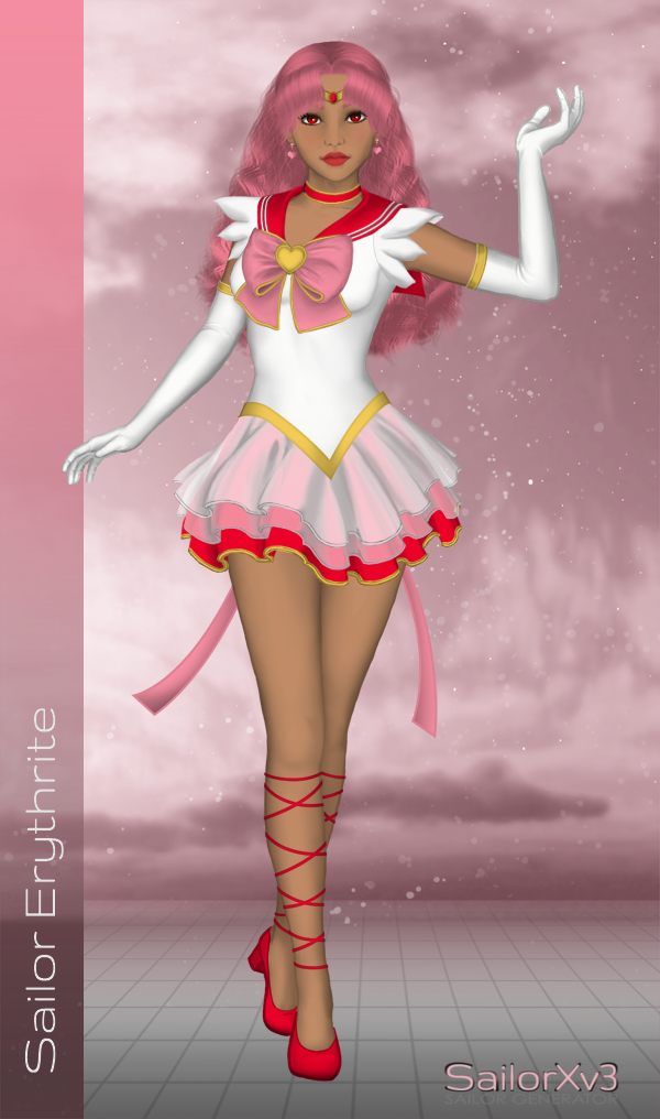 Ethereal Sailor Erythrite by LordBlumiere