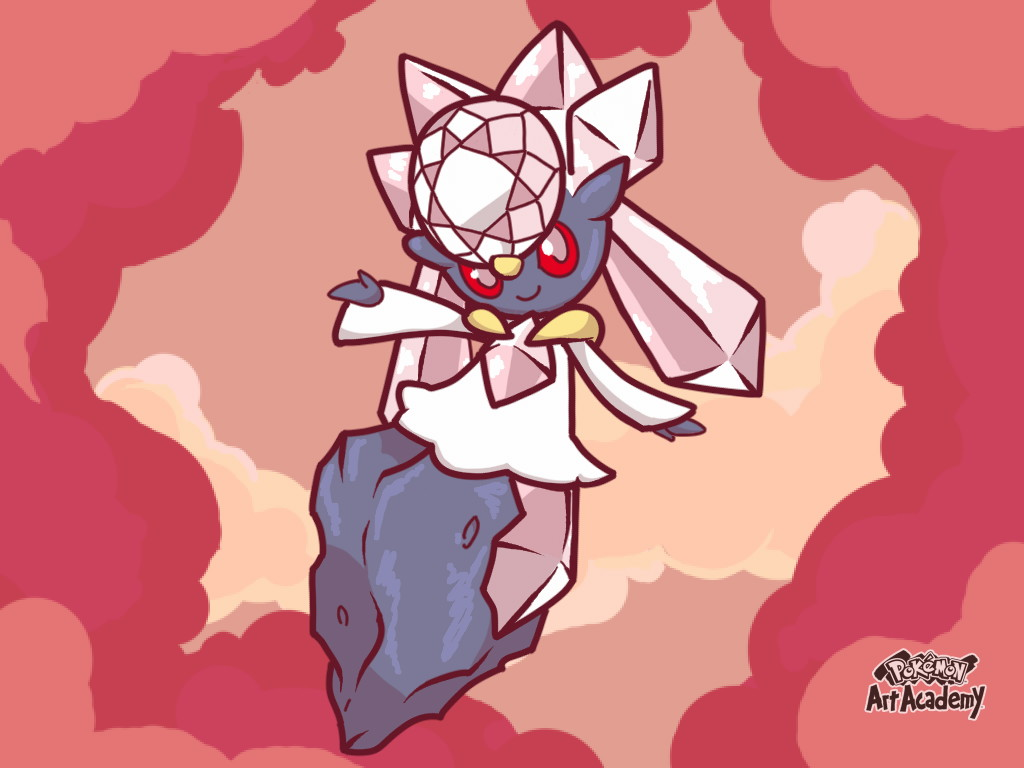 Diancie by LordBlumiere