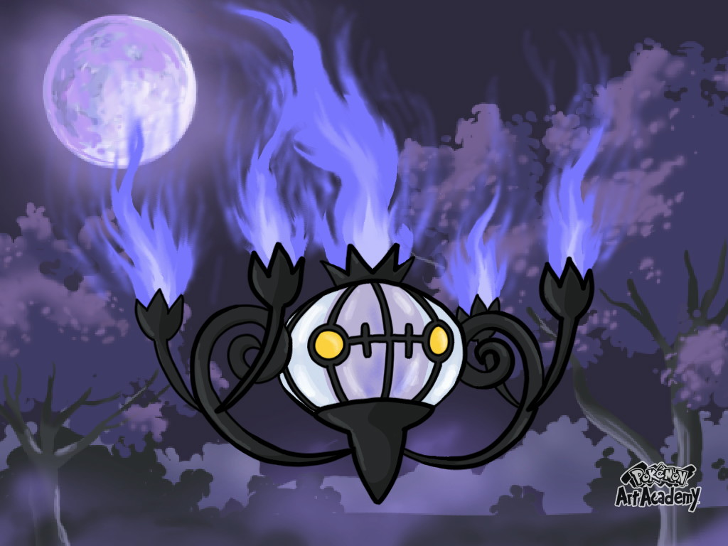Chandelure by LordBlumiere