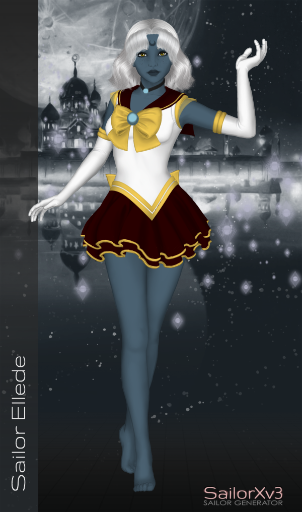 Sailor Ellede by LordBlumiere