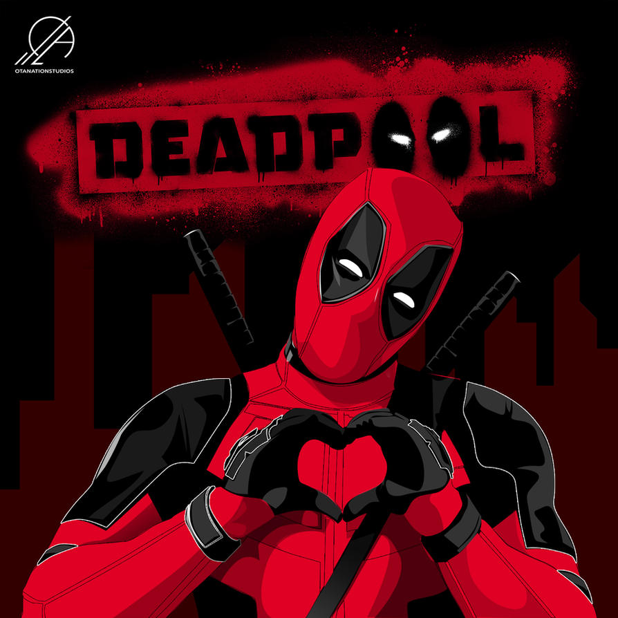 Awesome Deadpool Cartoon By OTANationStudios By OTANation ...