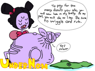 (Vore Commission) Muffet's Permanent Payment by UnderNom