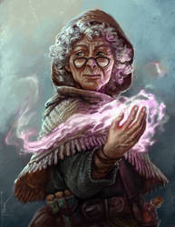 Magic Grandma (Commission)