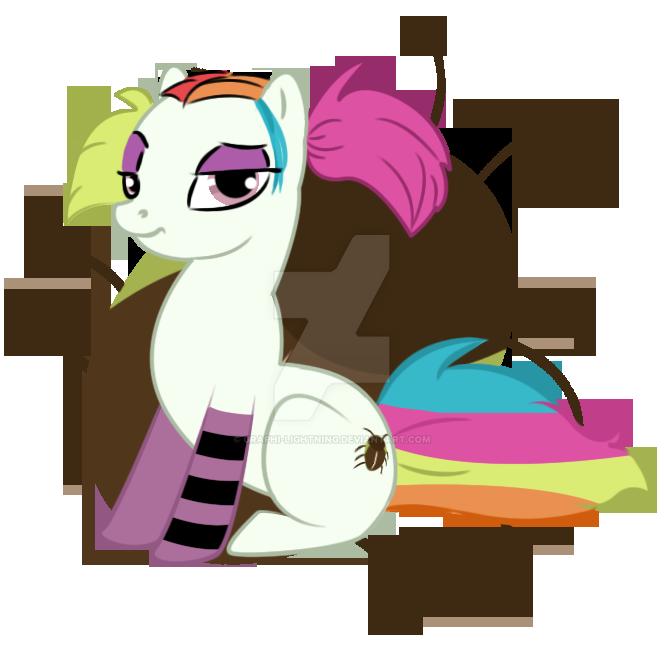 Creepie version pony by graphi-lightning