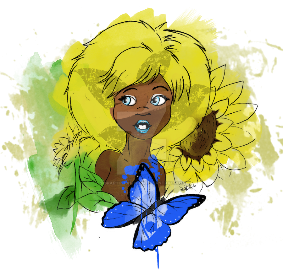 sunflower by graphi-lightning