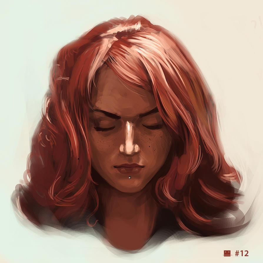 no.12 - Newsha Ghasemi by Sickbrush