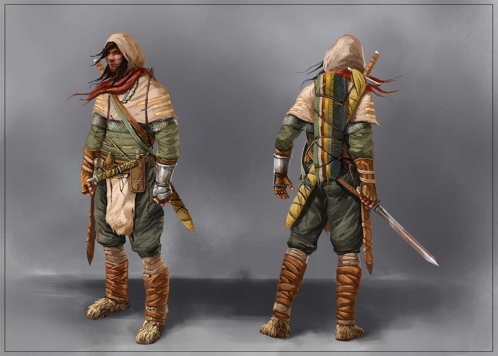 Nomad warrior by Sickbrush