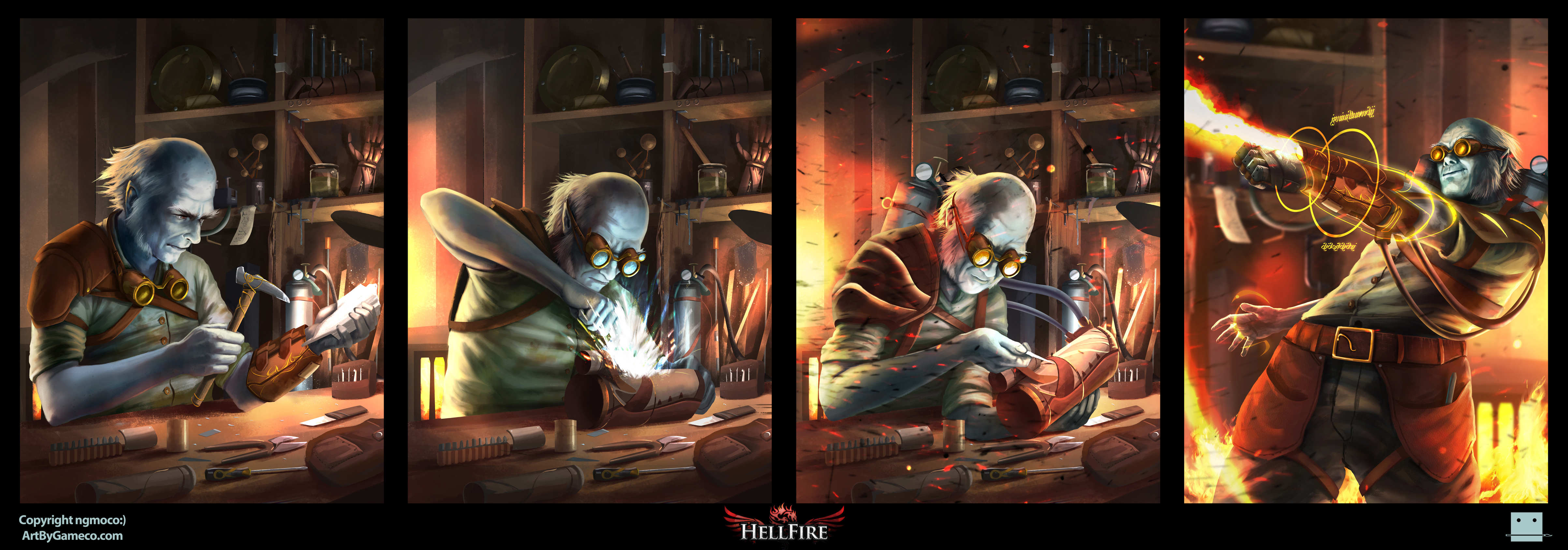 Hellfire - Kilmin Grestly by Sickbrush