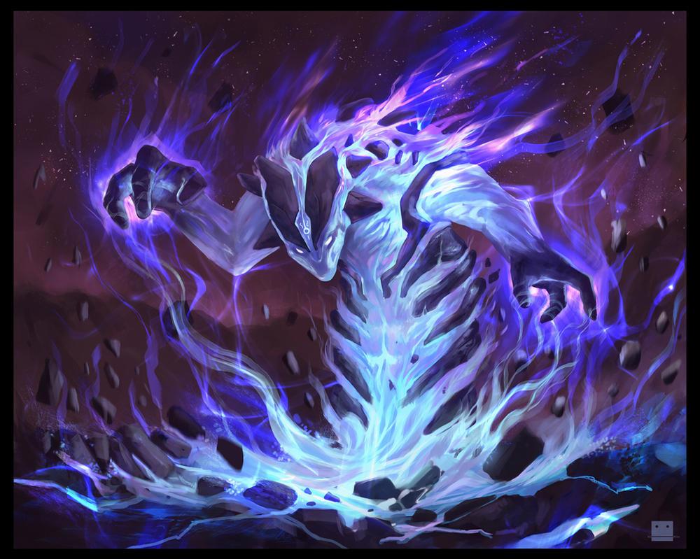 Spellbound Elemental by Sickbrush
