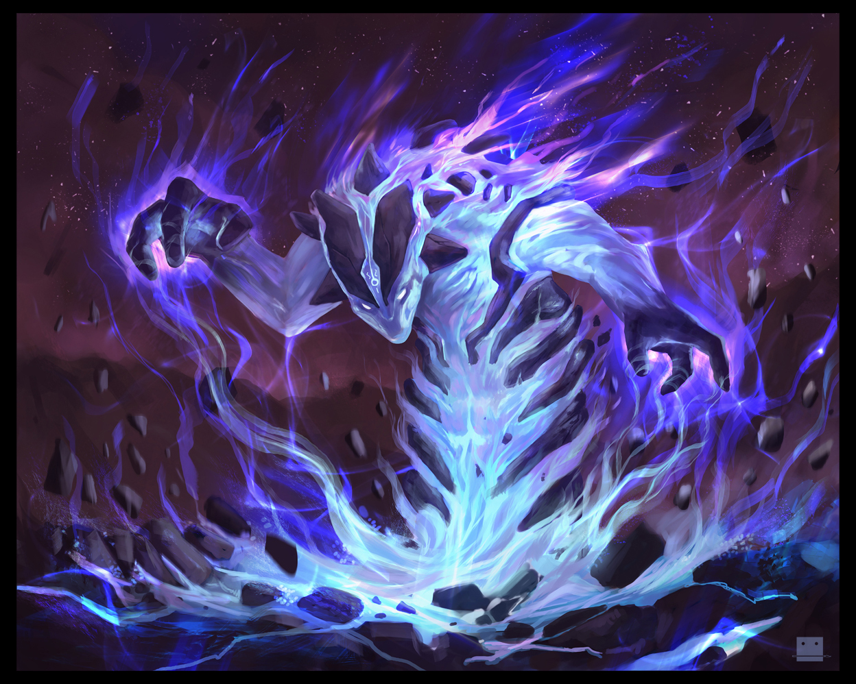 Spellbound Elemental by Sickbrush