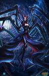 League of Legends Elise fanart