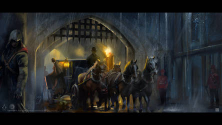 Assassin's Creed Syndicate - London night mood by Sickbrush