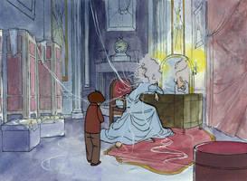 Pip Meets Miss Havisham by Gwee