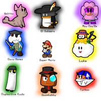 Paper Mario Partners by GeneralMudkip