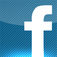 FACEBOOK APP ICON for IPHONE by radomer