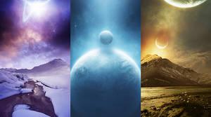 Sfondi-samsung star- planets