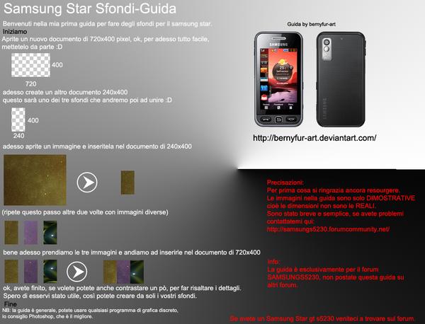 Sfondi-Guida-Samsung Star by bernyfur-art