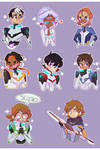 FANART (SPEEDPAINT): V O L T R O N (sticker sheet) by Pl-e-a-s-e