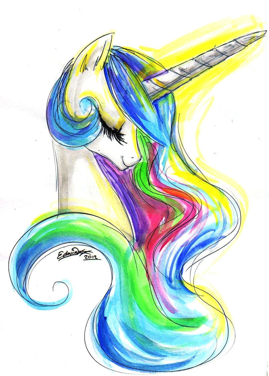 princess celestia by My-Magic-Dream