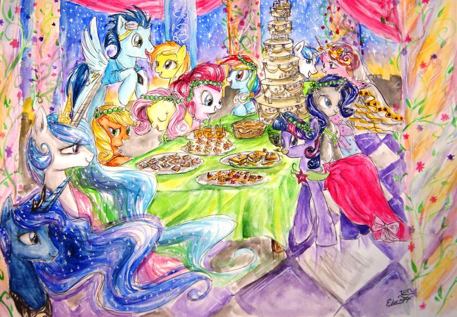 Wedding Feast by My-Magic-Dream