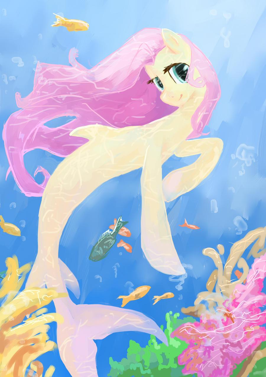 Sea Pony by My-Magic-Dream
