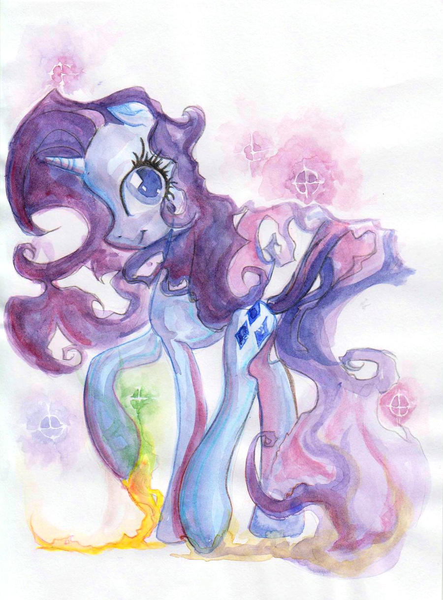 Watercolour Rarity by My-Magic-Dream