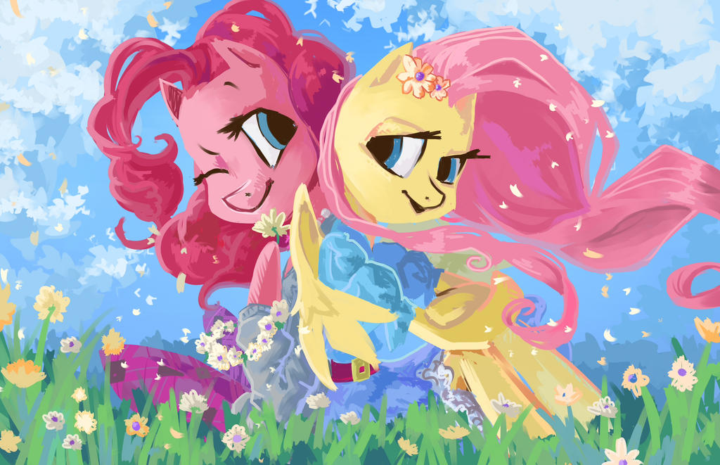 Flower Field by My-Magic-Dream