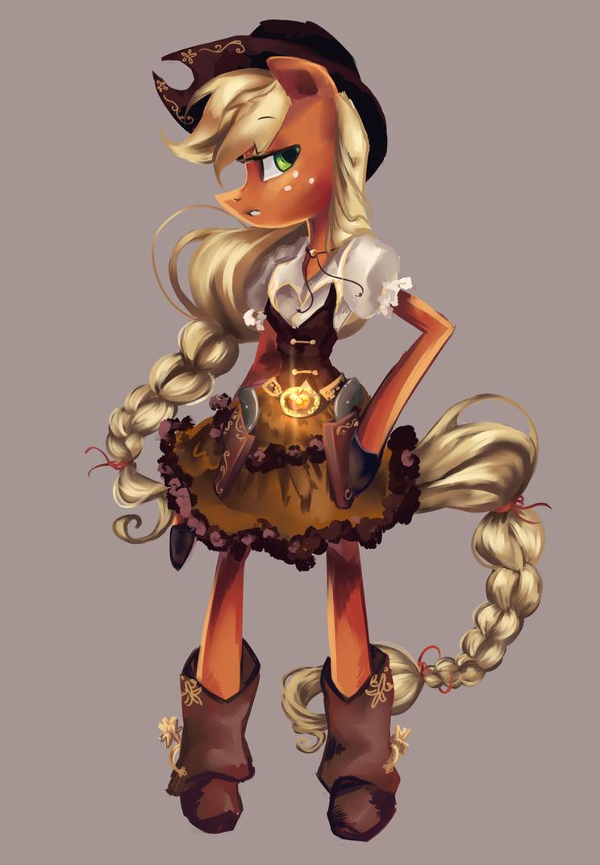 My Litle Pony Equestria Girls Applejack Dress Up Game