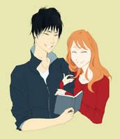Rachel and Jun by My-Magic-Dream