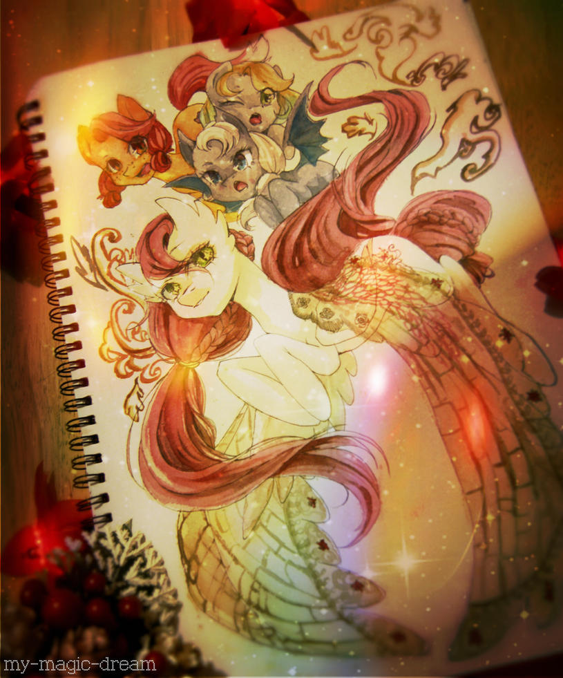 Late Secret Santa 2014 - My Precious by My-Magic-Dream