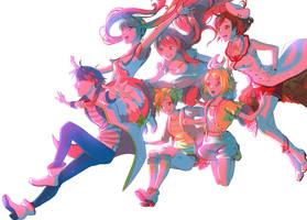 <b>Cute Medley: Idol Sounds - Project Diva X</b><br><i>My-Magic-Dream</i>