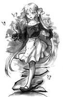 <b>Inktober Day 18 - Casual Miku</b><br><i>My-Magic-Dream</i>