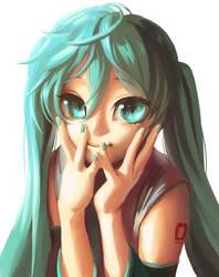 Dazzling Eyes Miku Chan