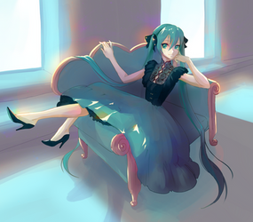 Dior Dress Miku