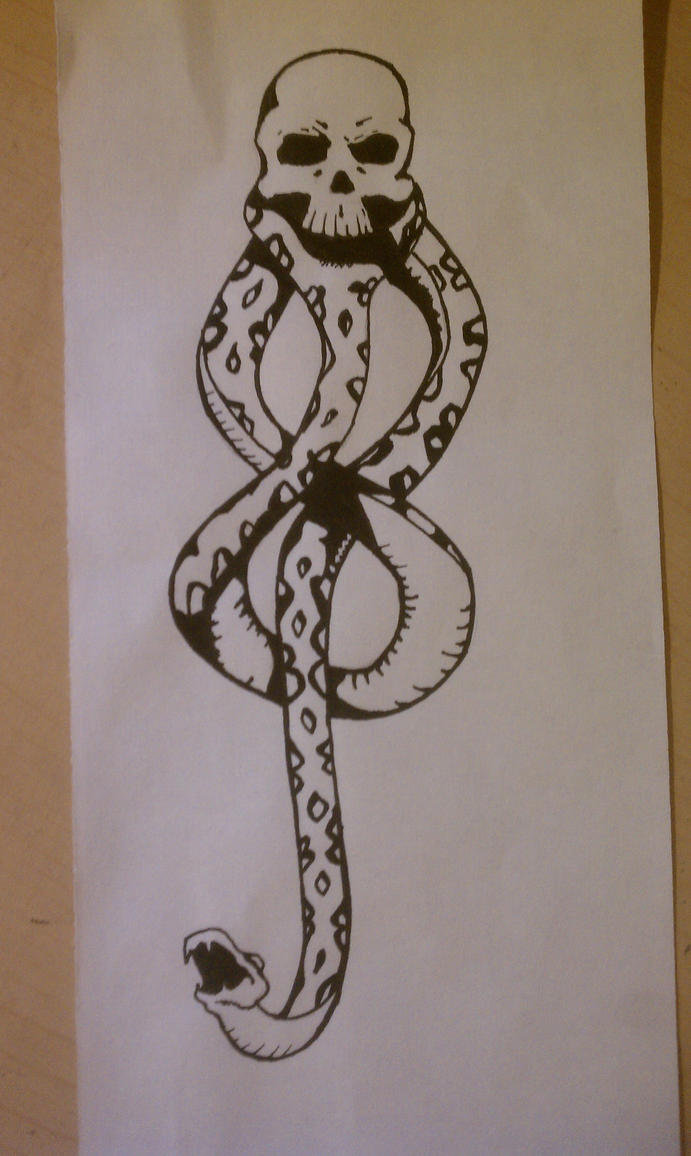 Death eater tattoo by bexwitchex on deviantart death eater tattoo by bexwitchex biocorpaavc Images