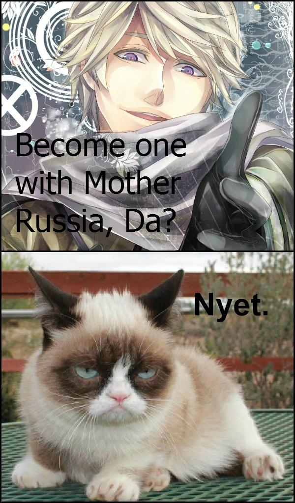 Grumpy Cat: Nyet by ApostolicShadowNinja