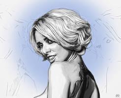 Alysha Nett - Tease - Illustration