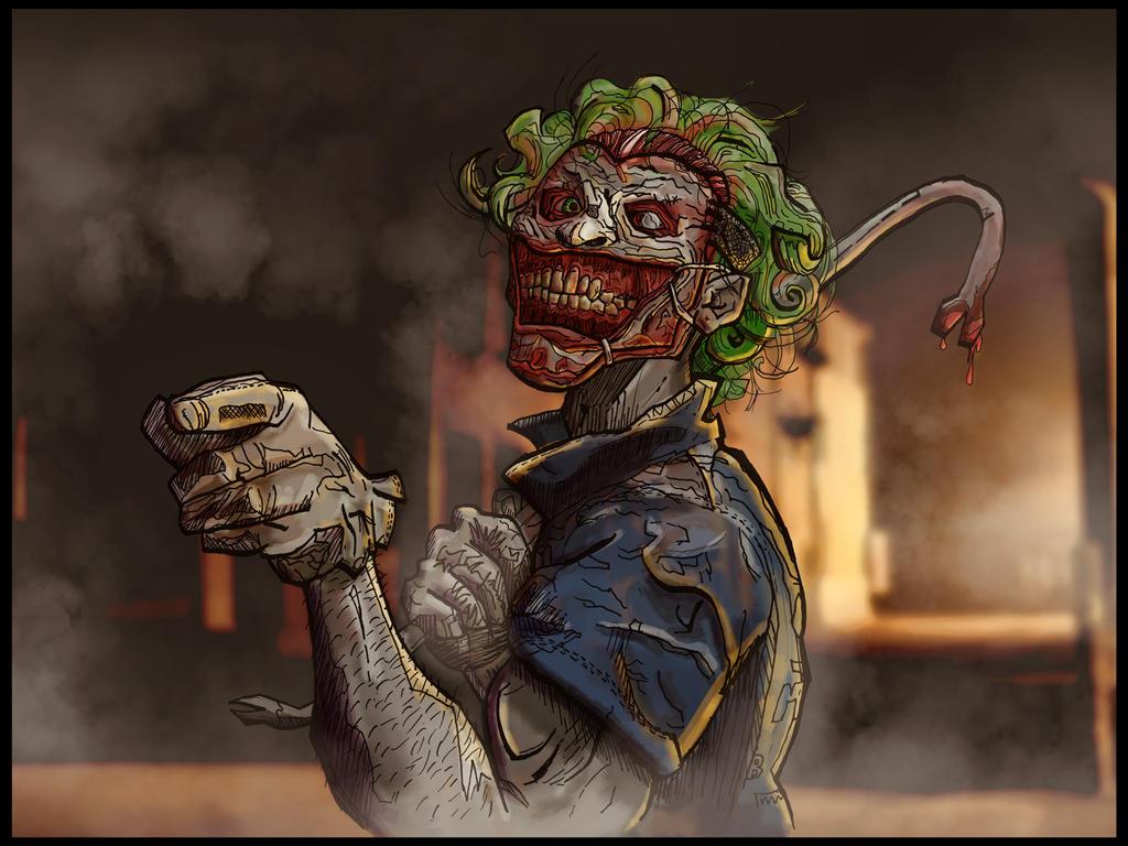 New 52 Joker Returns New joker 52 work in progress New 52 Joker Returns