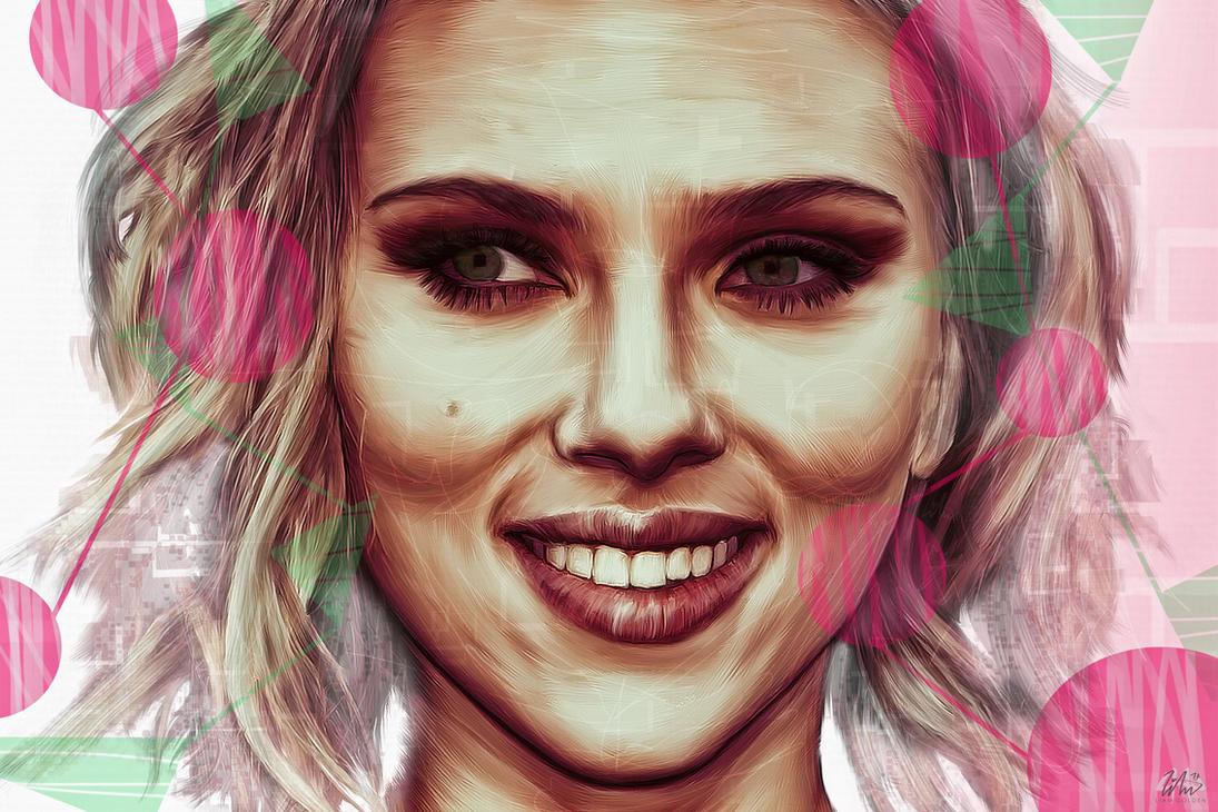 Her (film) Illustration -Samantha by LBG44
