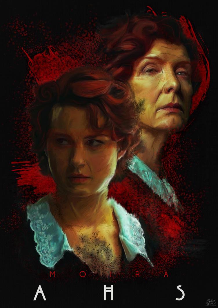 American Horror Story - Moira v2 by LBG44