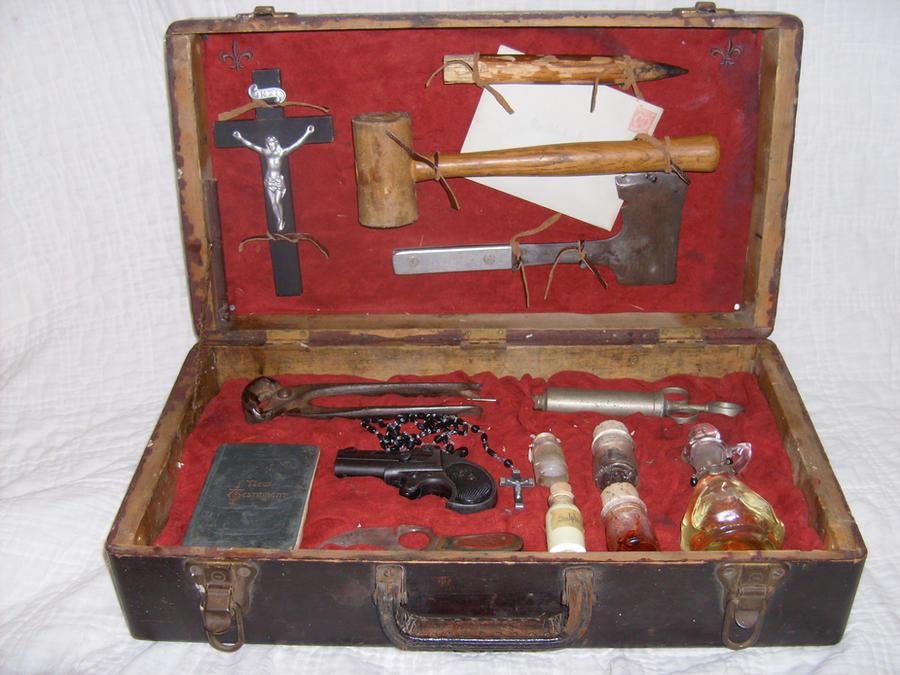 1890 Vampire Hunting Kit 1 by sunbearer-creative