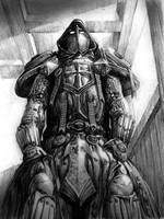 brave man  armor by azazel1944