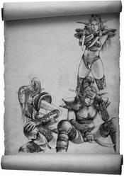 Andariel shadowSteps by azazel1944