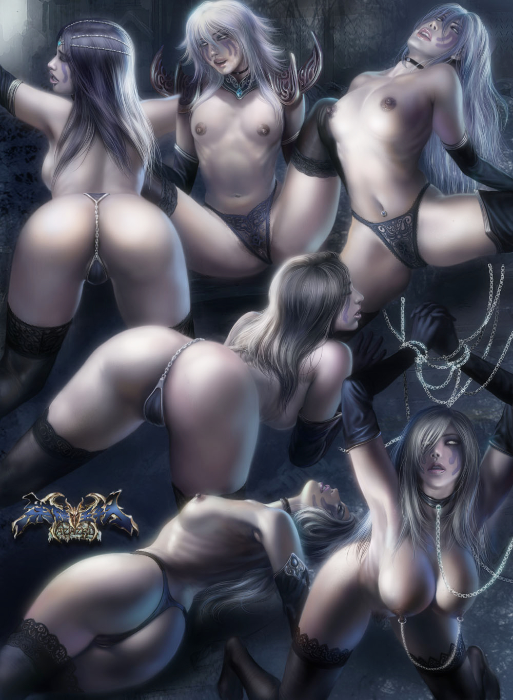 Sexy nude female vampire drawings smut clips
